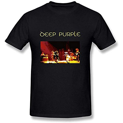 Men's Deep Purple Rock Band T-Shirt