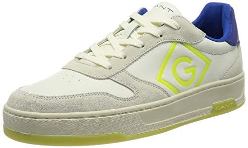 GANT Saint-Bro Sneaker, Scarpe da Ginnastica Uomo, Blu spento, 44 EU