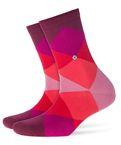 Burlington Damen Socken Bonnie, Baumwollmischung, 1 Paar, Rot (Shadow Red 8138), 36-41