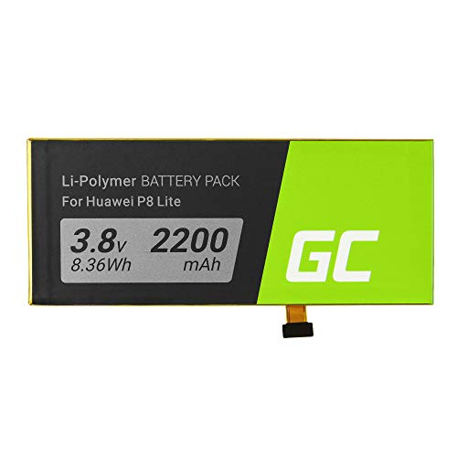 Green Cell® HB3742A0EZC Batteria per Huawei P8 Lite L21 (Li-Ion pile 2200mAh 3.7V)