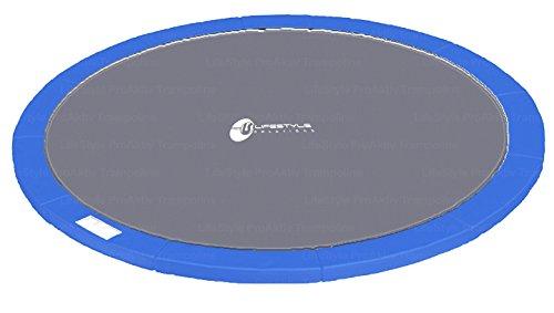 LifeStyle ProAktiv L-P-400 (B) lau Randabdeckung - Federnschutz für 400cm Durchmesser Trampoline