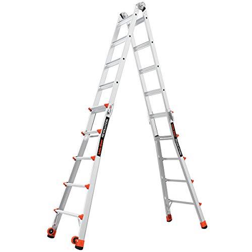 Little Giant Ladders, Revolution, M22, 6-18 foot, Multi-Position Ladder, Aluminum, Type 1A, 300, 300...