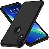 iPhone XR Case, with [2 x Tempered Glass Screen Protector]