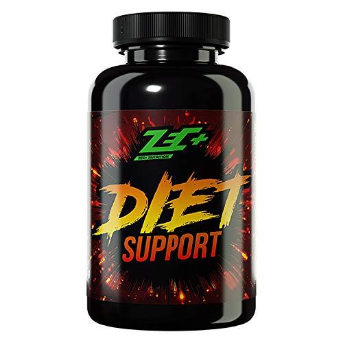 Zec+ Nutrition Diet Support, 150 Kapseln mit Grüntee- und Ingwerextrakt, Koffein und L-Carnitin, Made in Germany