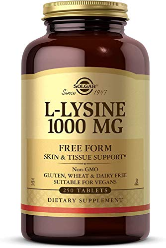 Solgar L-Lisina Comprimidos de 1000 mg - Envase de 250