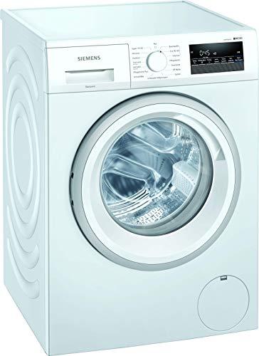 Siemens WM14NK20 iQ300 Waschmaschine / 8kg / A+++ / 1400 U/min / Outdoor Programm / varioSpeed Funktion / Nachlegefunktion / aquaStop
