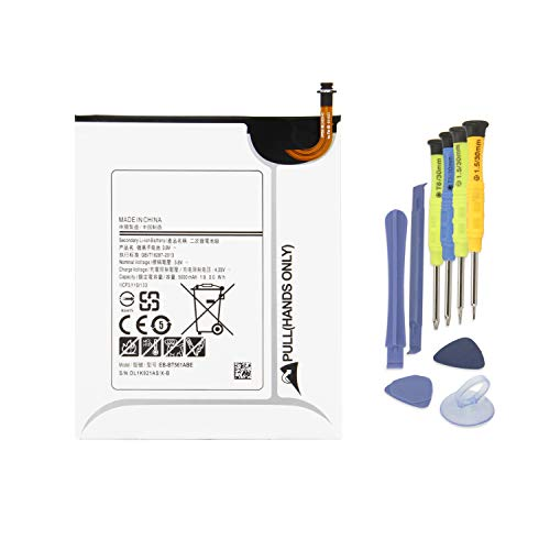 "batteria tablet K KYUER 19Wh 5000mAh EB-BT561ABE EB-BT561ABA Tablette Batteria per Samsung Galaxy Tab E Nook 9.6"" SM-T560 SM-T561 SM-T565 (3G & WiFi) T560 T561 T561N T561M T561Y Tablet Battery with Installation Tools"