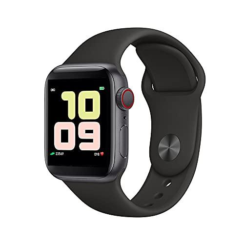 Smartwatch, 1.54' Reloj Inteligente,monitor De Sueño, Cronómetros, Calorías, Podómetro Monitores De Actividad Impermeable Ip67 Smartwatch