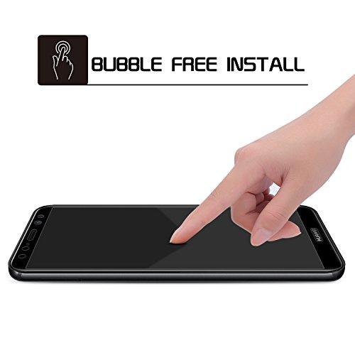 SPARIN [2 Stücke] kompatibel mit Huawei Mate 10 Lite Schutzfolie, Displayschutzfolie Panzerglas mit [9H Härte] [Anti-Kratzen] [Blasenfrei] [2.5D Rand] [HD Klar] - 4