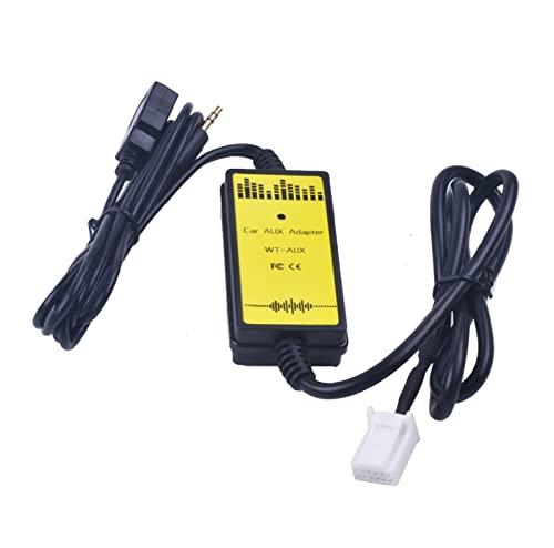 JINJUANYAO Coche CD Adaptador MP3 Interfaz de audio AUX USB Adaptador SD 2x6p Conectar CD Cambiador ENCAJAR for TOYOTA ENCAJAR for sequoia ENCAJAR for sienna ENCAJAR for tacoma ENCAJAR for yaris ENCAJ