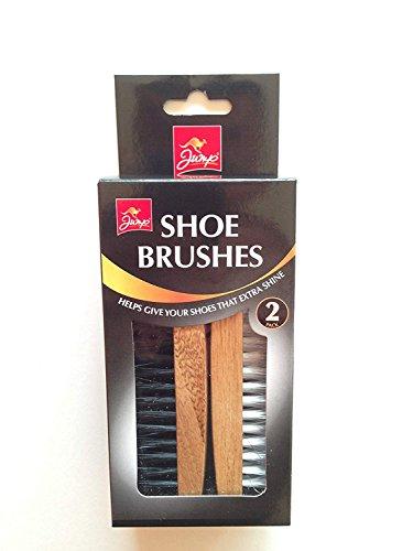 Jump Shoe Polishing Brushes 2 Pieces Pack Set