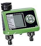 Global Material Programador de riego GLO-52 con 2 Salidas Pantalla electrónica automática Digital