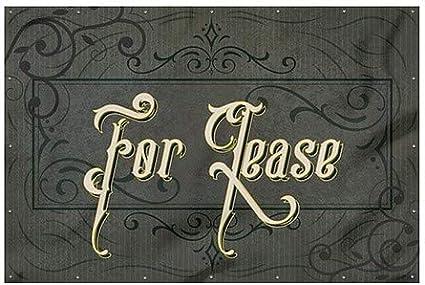 Victorian Frame Heavy-Duty Outdoor Vinyl Banner 12x8 for Lease CGSignLab