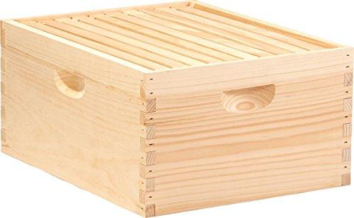Little Giant Farm & Ag DEEPBOX10 10-Frame Deep Hive Body, Natural