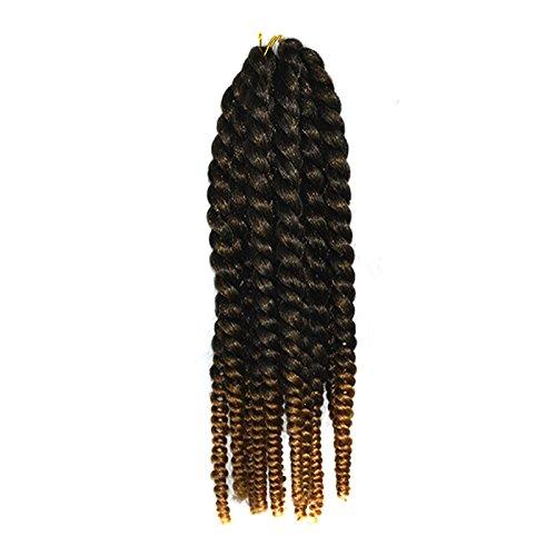 12 'Havana Mambo Twist Crochet Braid 80g / pack / Lot sintetico Kanekalon Capelli Senegalese Twist capelli Avana Mambo Twist Braids Capelli