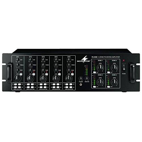 Monacor PA-4040 PA Mixing Amplifier