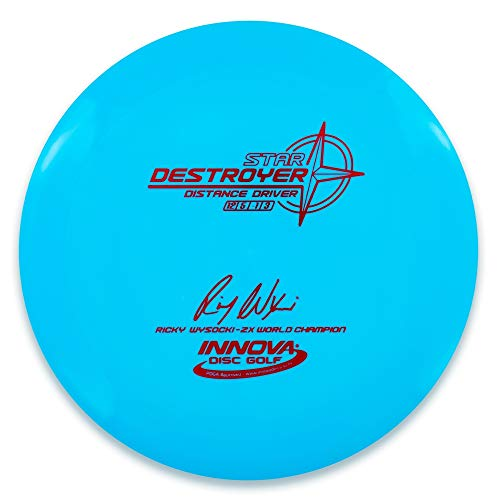 INNOVA Ricky Wysocki 2X Signature Stamp Star Destroyer Distance Driver Golf Disc [Colors May Vary] - 170-172g