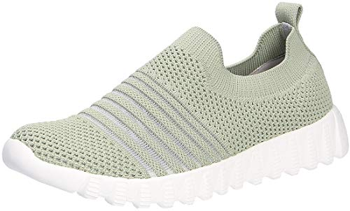 Bernie Mev BM94 Wylie - Damen Schuhe Sneaker - 261-moss, Größe:36 EU
