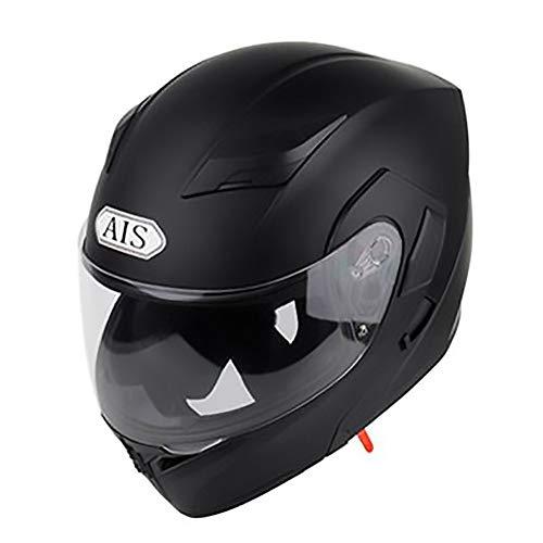 WXCymhy Matte Zwart Volwassene Fietshelm Rijden Elektrische Auto Motorhelm Fiets Mountainbike Helm Outdoor Riding Equipment Volwassen helm