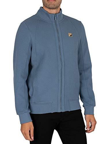 FILA Herren Trainingsjacke anziehen, Blau, L
