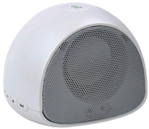 Sylvania SP260-White Bluetooth Portable Mini Speaker
