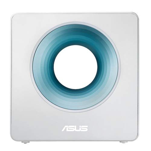 Asus Blue Cave AC2600 Dual-Band Wireless Router for Smart Homes, Featuring Intel Wifi Technology and Aiprotection Network Security Powered by Trend Micro (Renewed)