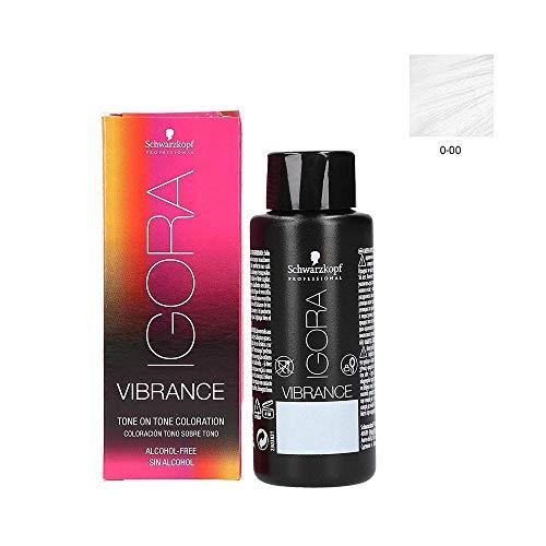Schwarzkopf Igora Vibrance 0-00 Klarton 60 ml Für mehr Glanz bei der Naturhaarfarbe oder colorierte Haarfarbe