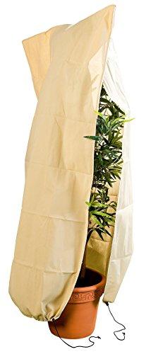 Royal Gardineer Pflanzenschutzhauben: XL-Pflanzenabdeckung als Winterschutz, 180x120cm, 80 g/m² (Kübelpflanzensack)