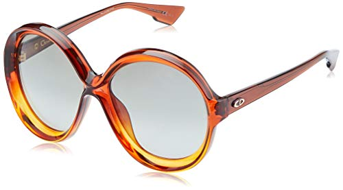 Dior DIORBIANCA 9O 12J Gafas de sol, Marrón (Brown Orange/Grey Sf), 58 para Mujer