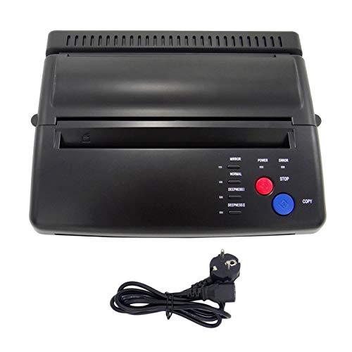 Lorenlli Estilo Profesional Tattoo Stencil Maker Máquina de transferencia Flash Copiadora térmica Suministros de impresora