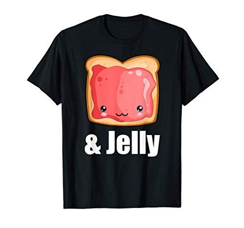 Peanut Butter & Jelly Kawaii PB&J Matching Halloween Shirt T-Shirt