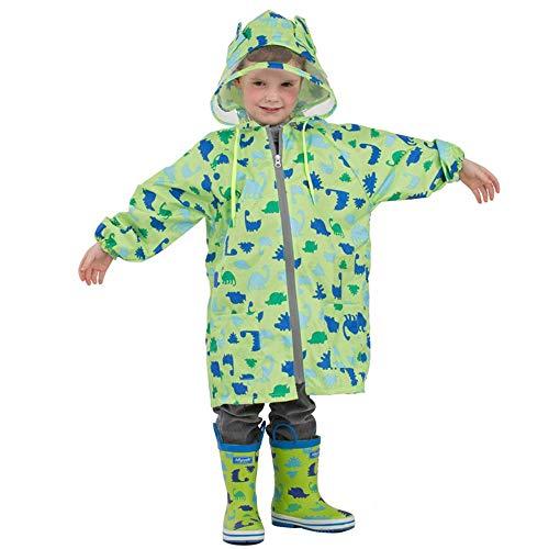 Guyuan Imperméable pour bébé et Enfant Fille garçon bébé Maternelle (Color : Green, Size : M)