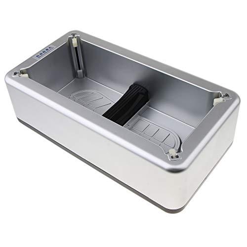 sharprepublic Dispensador Automático de Cubierta de Zapato Desechable para Laboratorio Hogar - Plata