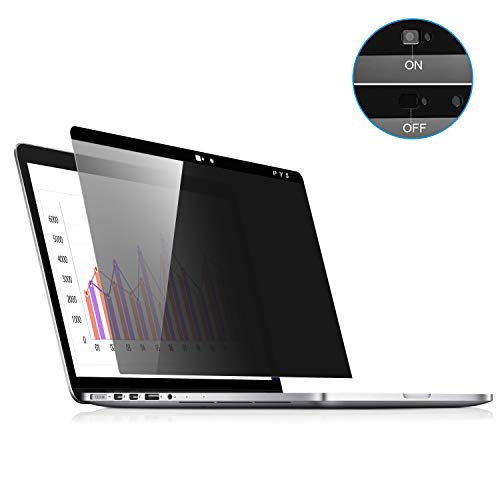 MacBook Pro 13 Screen Privacy, Webcam Cover Slider - Magnetic Privacy Screen Compatible with MacBook Pro 13.3 inch(Late 2016-2020 Including Touch Bar Models)-Anti Glare[Easy On]