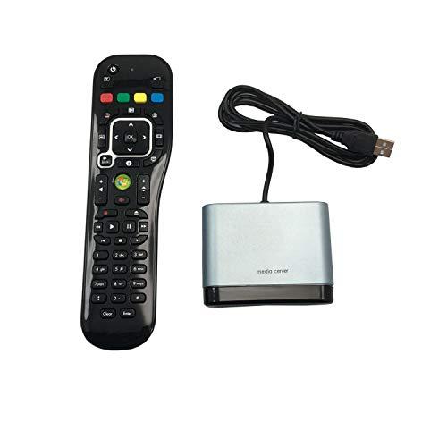 Runrain USB MCE IR Receiver TSGH-IR07 Windows Media Center Remote WIN7.WIN8