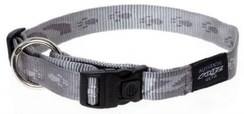 Rogz HB25-L Alpinist Halsband/K2, L, Silber