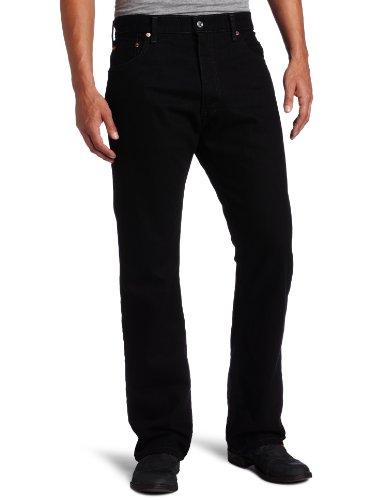 Levi's Men's 517 Boot Cut Jean, Black, 34x32