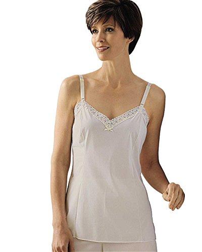 Shadowline Women's Daywear Adjustable Strap Camisole 22304 42 Ivory