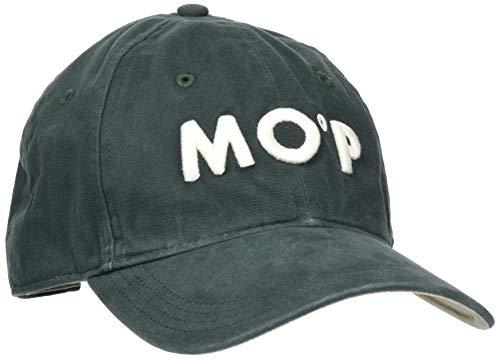 Marc O'Polo Herren 927806201028 Baseball Cap, Grün (Darkest Spruce 486), One Size (Herstellergröße: OSO)