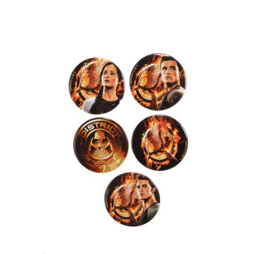 NECA Badge The Hunger Games Catching Fire - Hommages 5 Paquet