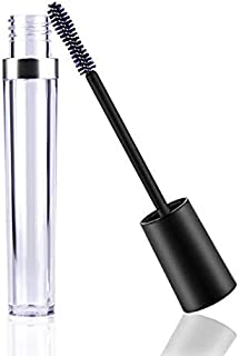 Onwon 2 Pcs 8 mL Empty Mascara Tubes With Eyelash Wand, Rubber Inserts and Funnels for Castor Oil, Ideal Kit for DIY Cosmetics, Includes 2 tubes, 2 rubber inserts and 2 funnels