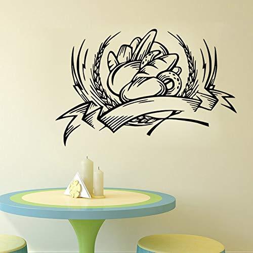 WGWNYN Adesivi murali Decorativi da Forno Adesivi per Piastrelle Cucina Adesivi murali Pane Impermeabili per Ba3 8x59cm