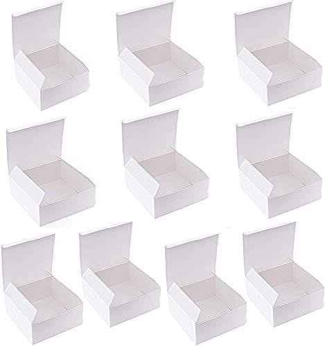 Cajas de regalo Mydio de cartón blanco con tapas