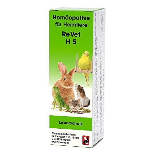 REVET H 5 Globuli für Heimtiere -Homöopathisches Arzneimittel für Heimtiere, freiverkäuflich, 10 g