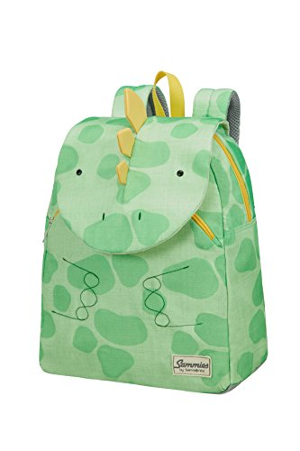 Samsonite Happy Sammies - Kinder-Rucksack S+, 31 cm, 11.5 L, Grün (Dino Rex)