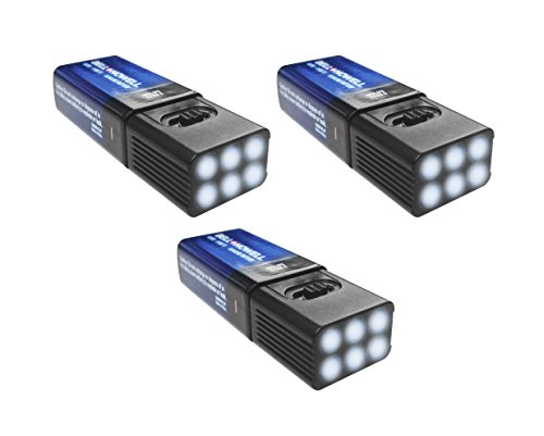 MicroBrite LED Flashlight by Bell and Howell with Free 9-Volt Battery (3)
