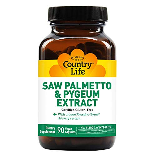 Country Life Saw Palmetto and Pygeum, 90-Count