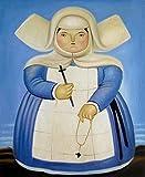 ARjzap 1000 Piezas Rompecabezas de Cartón_Rompecabezas de Pintura de Botero_Rompecabezas de óptima Calidad_Rompecabezas Familiar Divertido_50x75cm(19.68x29.52 in)