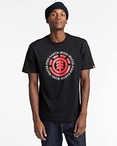ElementSeal - Camiseta - Hombre - L - Negro