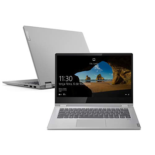 Notebook Lenovo 2-em-1 Ideapad C340, Intel Core i7 8GB, 256GB, SSD, Tela IPS Full HD 14'', 81RL0003BR